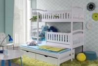 Poschodová posteľ Ania 3-osobová 80 x 190 Certifikát