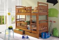 Poschodová posteľ Lukáš 80 x 180 Certifikát