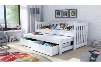 Detská posteľ Swen s výsuvným lôžkom DPV 002 Certifikát lozko poschodová niskie
