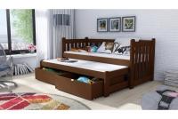 Detská posteľ Swen s výsuvným lôžkom DPV 002 Certifikát lozko poschodová wyjazdowe