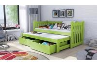 Detská posteľ Swen s výsuvným lôžkom DPV 002 Certifikát Posteľ dla chlopca