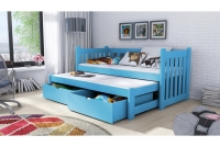 Detská posteľ Swen s výsuvným lôžkom DPV 002 Certifikát Posteľ dla chlopcow
