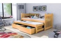 Detská posteľ Swen s výsuvným lôžkom DPV 002 Certifikát lozko dla rodzenstwa