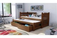Detská posteľ Swen s výsuvným lôžkom DPV 002 Certifikát lozko dla bliznikow