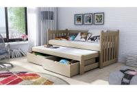 Detská posteľ Swen s výsuvným lôžkom DPV 002 Certifikát posteľ sosonowe