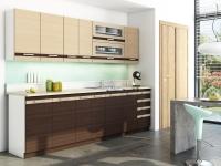 Lungo & Macchiato 2,6 m - Komplet kuchynského nábytku