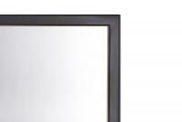 Zrkadlo Brooklyn 840 - 60 cm - kolekcia Brooklyn, Manhattan Zrkadlo prostokatne w czarnej ramie