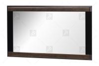 Ozdobné zrkadlo Porti 80 - Čokoládový dub