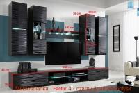 Obývacia stena Blade 4 moderná obývacia izba