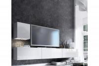 Obývacia stena Combo 20 Biely/MDF Biely lesk