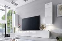 Obývacia stena Combo 21 Biely/MDF Biely lesk