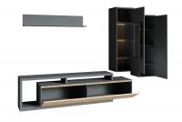 Moderná obývacia stena Cordoba Matera/Matera-Artisan Komplet do obývačky - vnútro