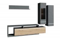 Moderná obývacia stena Cordoba Matera/Matera-Artisan Komplet do obývačky