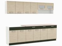 Moreno Picard 2,6 M - Komplet nábytku Kuchyňských