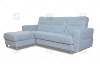 Rohová sedacia súprava Napa  - Výpredaj Rohová sedacia súprava z pufa nappa
