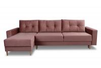 Rohová sedacia súprava Penelope II - Koncovka Série Ružová Rohová sedacia súprava