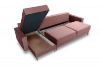 Rohová sedacia súprava Penelope II - Koncovka Série Rohová sedacia súprava z dwoma skrzyniami na posciel