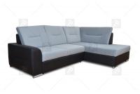 čalúnená rohová sedacia súprava Twins - Výpredaj expozície Rohová sedacia súprava šedý twins