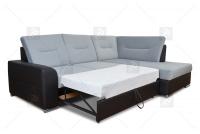 čalúnená rohová sedacia súprava Twins - Výpredaj expozície Rohová sedacia súprava twins rozkladany do spania