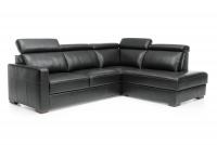Rohová sedacia súprava rozkladacia Ergo 2,5F-E-1HT/BK - Výpredaj Rohová sedacia súprava s funkciou spania