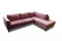 Rohová sedacia súprava rozkladacia Lumber Jack 2DL-OTM/BK