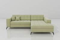 Rohová sedacia súprava s funkciou spania Solange
