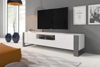 moderná TV skrinka Modi - Biely lesk moderná TV
