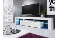 Moderní Skříňka TV Vera 190 cm - Bílý