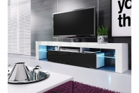 Moderní Skříňka TV Vera 190 cm - Černý