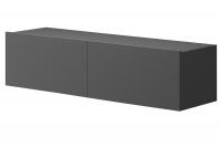 Moderná závesná TV skrinka Altara TV120 Grafit