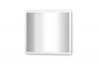 Moderní zrcadlo do předsíně Elif 8 Bílý vysoký lesk