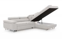 Moderná rohová sedacia súprava Annabelle Rohová sedacia súprava z pojemnikiem na posciel