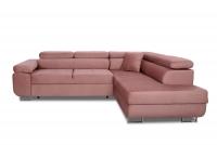 Moderná rohová sedacia súprava Annabelle Rohová sedacia súprava Ružová