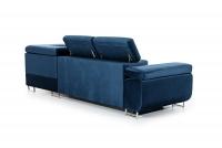 Moderná rohová sedacia súprava Annabelle Rohová sedacia súprava z tapicerowanym tylem