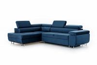 Moderná rohová sedacia súprava Annabelle Rohová sedacia súprava w miekkiej tkaninie