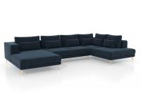 moderní Rohová sedací souprava do obývacího pokoje Nicole U