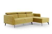 Moderní Rohová sedací souprava do obývacího pokoje Onyx