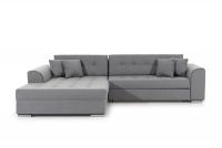 Moderná rohová sedacia súprava Sorento šedý Rohová sedacia súprava do obývacej izby
