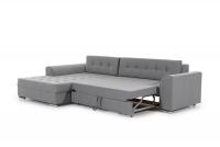 Moderná rohová sedacia súprava Sorento šedý Rohová sedacia súprava rozkladany do spania