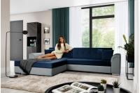 Moderná rohová sedacia súprava Sorento Rohová sedacia súprava niebiesko-šedý