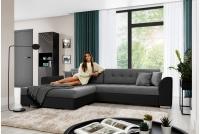 Moderná rohová sedacia súprava Sorento Rohová sedacia súprava z plecionej tkaninie