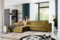 Moderná rohová sedacia súprava Sorento Žltý Rohová sedacia súprava do obývacej izby