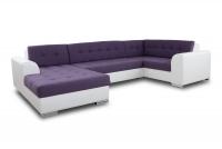 Moderná rohová sedacia súprava Damario Rohová sedacia súprava do duzego izby