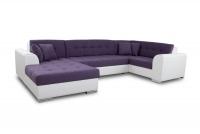 Moderná rohová sedacia súprava Damario Rohová sedacia súprava z poduszkami