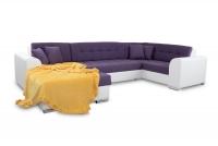 Moderná rohová sedacia súprava Damario komfortowy Rohová sedacia súprava