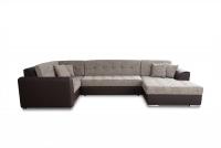 Moderná rohová sedacia súprava Damario Rohová sedacia súprava u w tkaninie