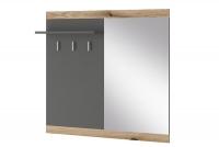 Panel z zrkadlom do predsienie Erita - Dub / Grafit