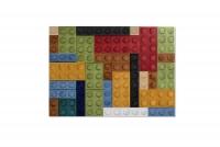 Čalúnený stenový panel Lego
