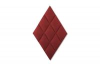Čalúnený stenový panel Diamant Panele tapicerowane Diament - Romb, rownoleglobok