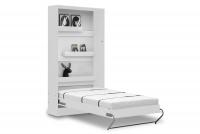Sklápacia posteľ 90x200 New Elegance - Biely lesk